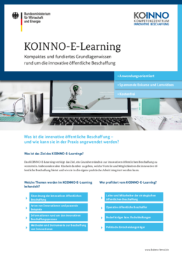 KOINNO-E-Learning Factsheet